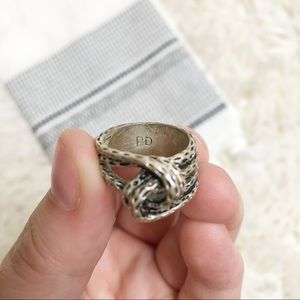 Jewelry - PD silver rope knot ring